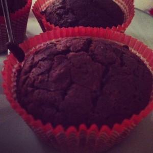 muffin cioccolato e castagne