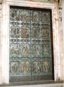 Porta Santa in Vaticano